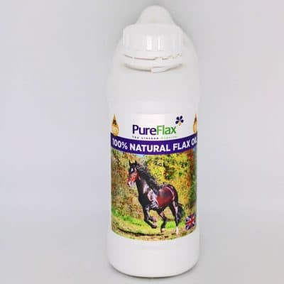 1 Litre Container 100% Natural Linseed Oil - PureFlax