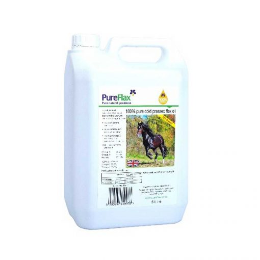 5 Litre 100% Natural PureFlax Linseed Oil for Horses