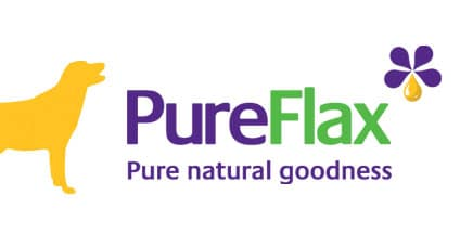 PureFlax natural flax seed oil helps improve your dogs health