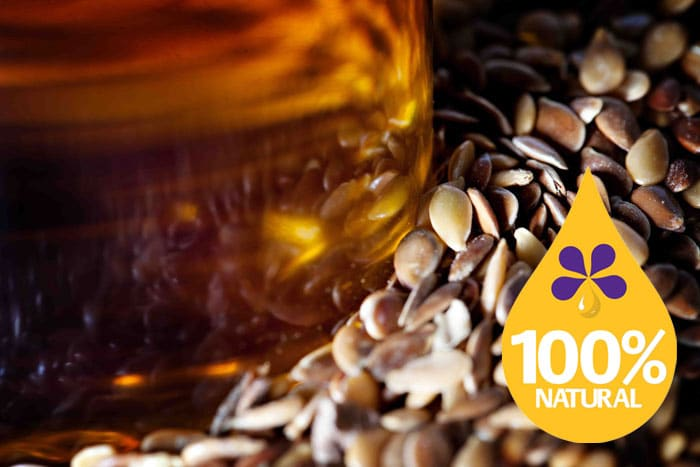 100% natural and fresh flax seed oil for improved health and wellbeing