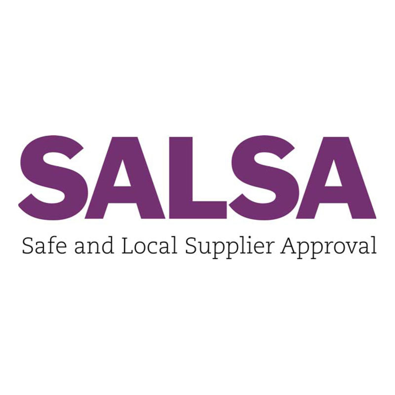 PureFlax is SALSA (Safe & Local Supplier Approved) Accredited