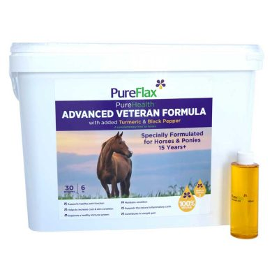 Advanced Veteran Formula Linseed - PureFlax PureHealth 6kg
