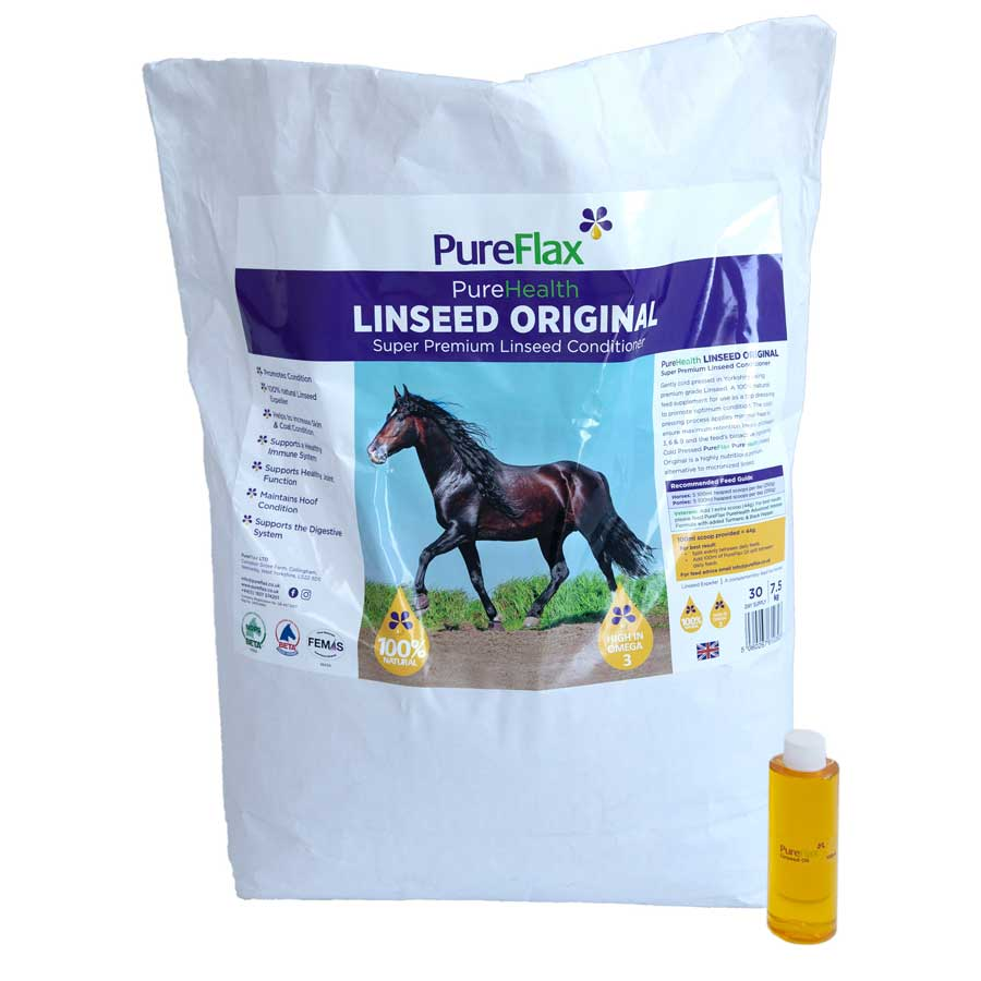 Linseed Original Super Premium Linseed Conditioner 7.5kg PureFlax PureHealth