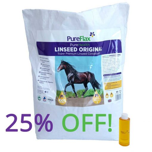 25% off Linseed Original Super Premium Linseed Conditioner 7.5kg PureFlax PureHealth