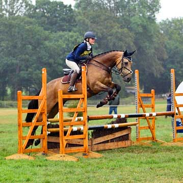 All of Evie's competition horses take PureFlax 100% Natural Linseed Oil For Horses