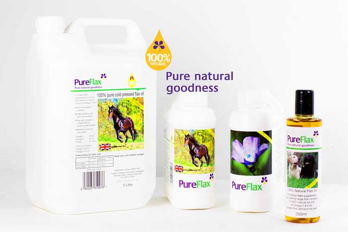Shop PureFlax 100% natural flax seed oil on-line quickly & easily