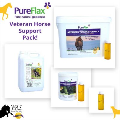 Veteran Horse Support Pack VHS Approved & Recommended