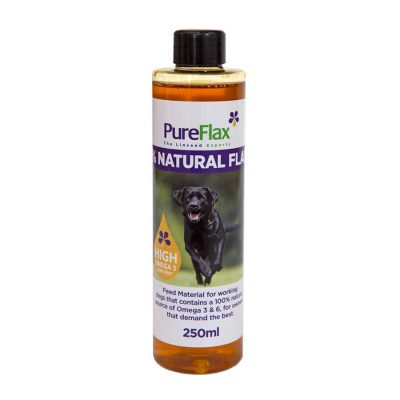 250ml 100% Natural Linseed Oil for dogs & small pets