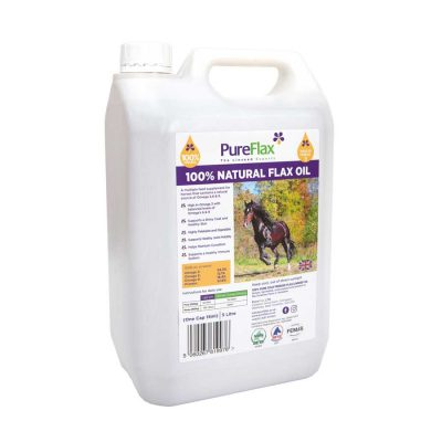 5 Litre Container Natural Linseed Oil