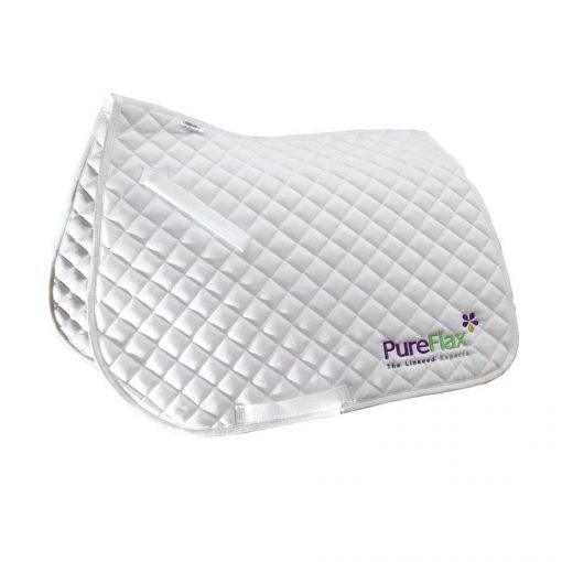 PureFlax Quilted Numnah Saddle Pad